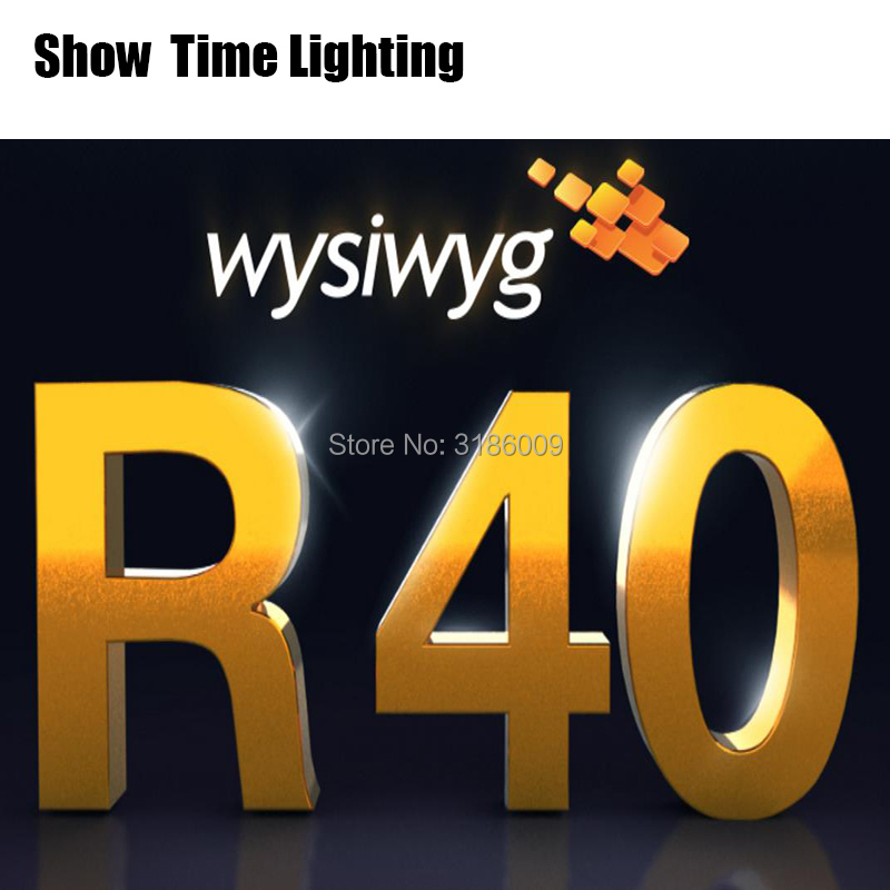 WYSIWYG Release 40 R40 preform Encrypted dog for beautiful light show Live Model