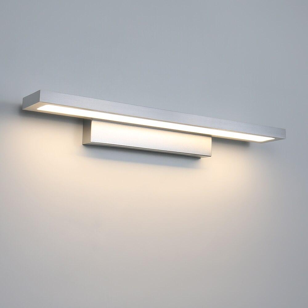 Мини 1440lm 18 Вт современный макияж Led зеркало для ванной комнаты Настенные светильники лампы 40*4,5*8,5 см теплый/холодный белый зеркальный светил