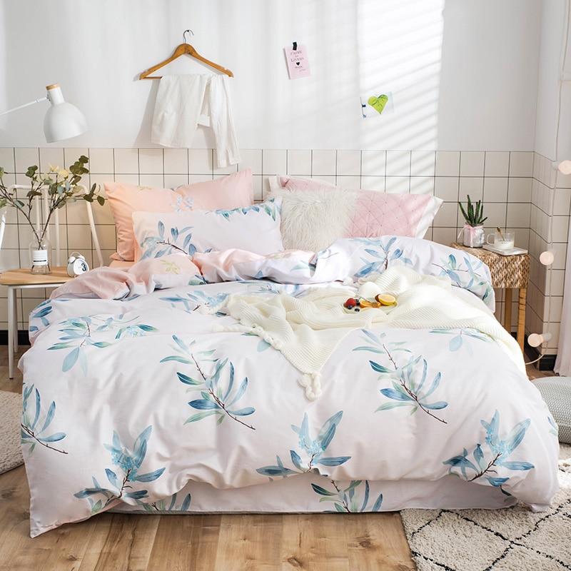 Princess Bedding Set Ruffle Bedding Teen Girl Bedding Pillow Case Queen  Size Kids Bedsheet Set Flat Sheet With Ruffles