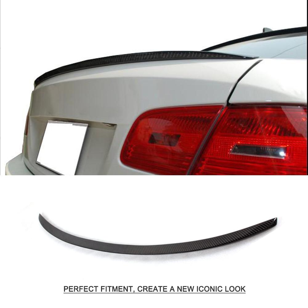 Углеродное волокно задний багажник спойлер багажника для BMW 3 серии E92 M3 325i 328i 330i 2008 2009 2010 2011