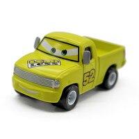 Lemon Yellow No 52 Leak Less Pickup Truck Diecast Metal Toy Car Pixar Cars 2 Cartoon