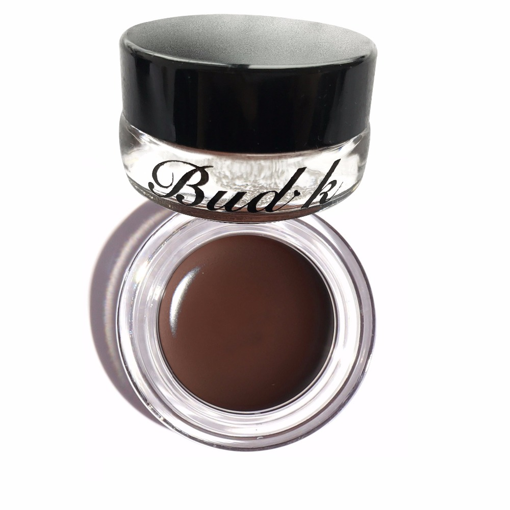 Good quality BUD K Brand Brown Color Eyebrow Enhancers Maquiagem Makeup Waterproof Eye Brow Filler Beverly Hills Pomade Eyebrow