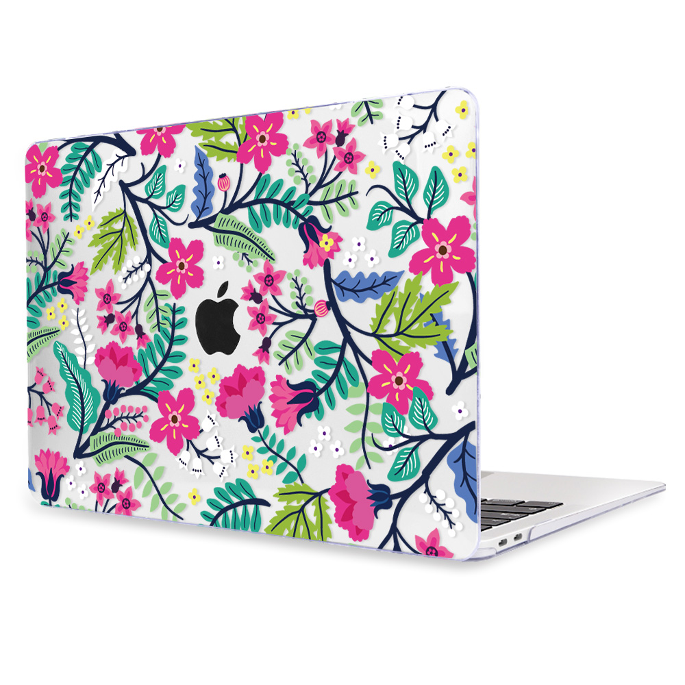 Redlai Colorful Flowers Case for MacBook 42