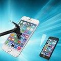 Protector de Pantalla de cristal de Cine Para El Iphone 6 Plus 6 s Más 5.5 Pulgadas 0.3mm 2.5D Color Plating Electrochapa Espejo lass Templado