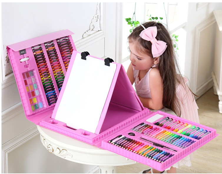 Fun Drawing Toys for children paint board Learning notebook Education coloring notebook For Girl'sChristmas gift present