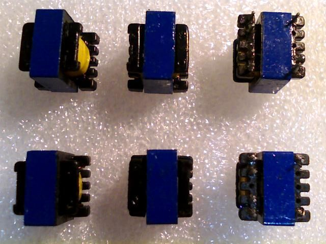 20pieces EE13-AW5V1A Vertical High Frequency Transformer