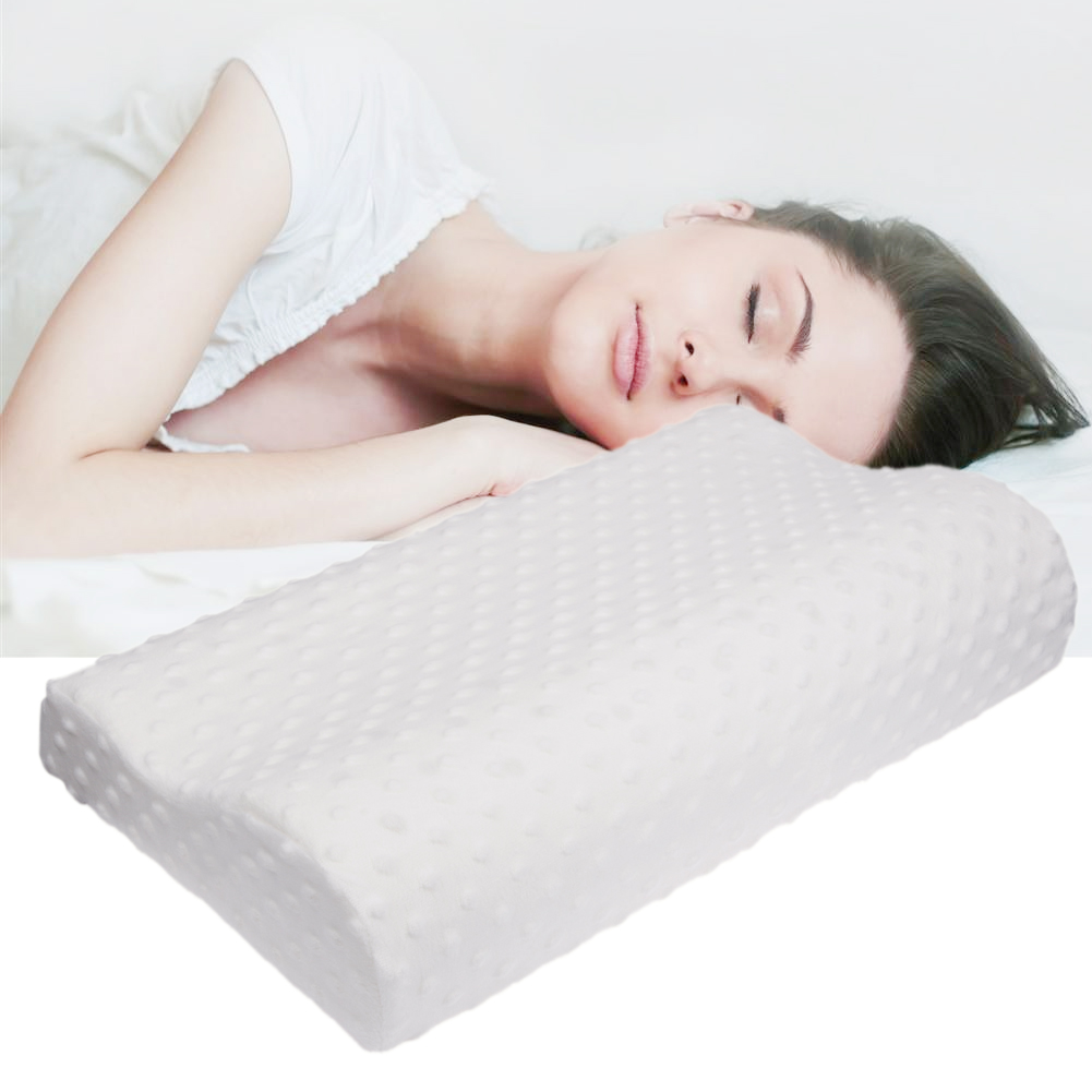 Soft Pillowcase Travel Memory Foam Space Pillow Case Slow ...