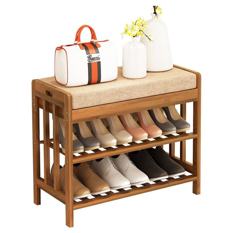 Hing and margin simple wooden home can sit bench multi-function European shoe rack весы shun hing