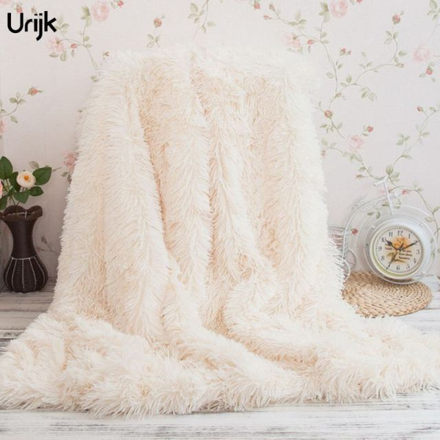 fuzzy sofa suede sofas urijk 1pc faux fur super soft blanket home use winter throw long shaggy plush fluffy sherpa blankets
