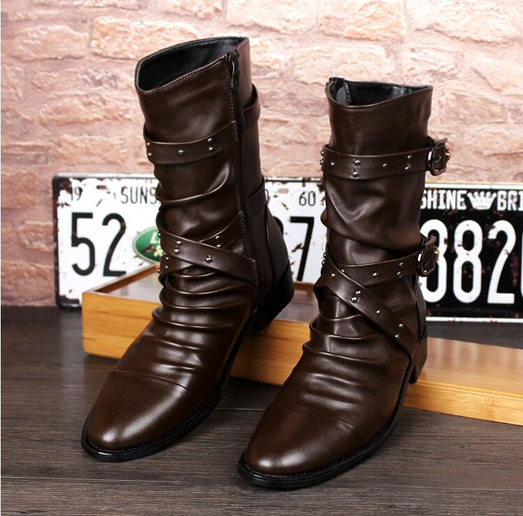 popular mens motorcycle boots buy cheap mens motorcycle