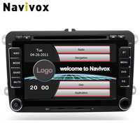 Navivox 2 Din 7 Inch Car DVD Video Multimedia Player For Volkswagen/VW/Passat/POLO/GOLF/ For Skoda/Seat/Leon GPS Navigaiton RDS