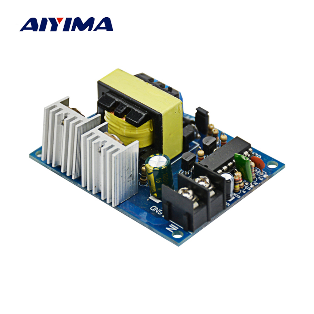 Aiyima TL494 100W 12V To 0-110-220V Micro Inverter 12V TO Dual 110V Step-up  Circuit Board