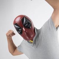 New Deadpool PVC Helmet Superhero Mask Cosplay Props Adult Party Halloween Props Helmet New Version Cosplay Props On Sale!!
