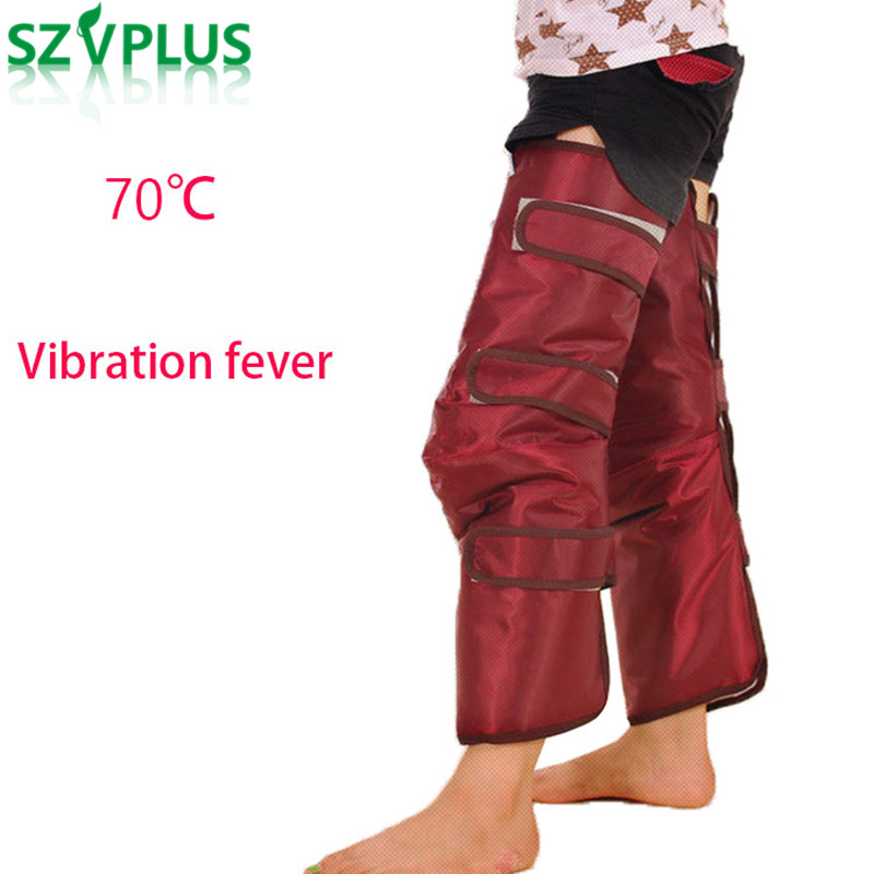 Sauna Heating Electric Slimming Legs Belt massager Spa Detoxification Electric Vibration Thigh Calf Lose Weight Fat Burning цены