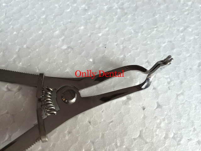Free shipping 1pcs Orthodontic Instrument Dentist plier for matrix band