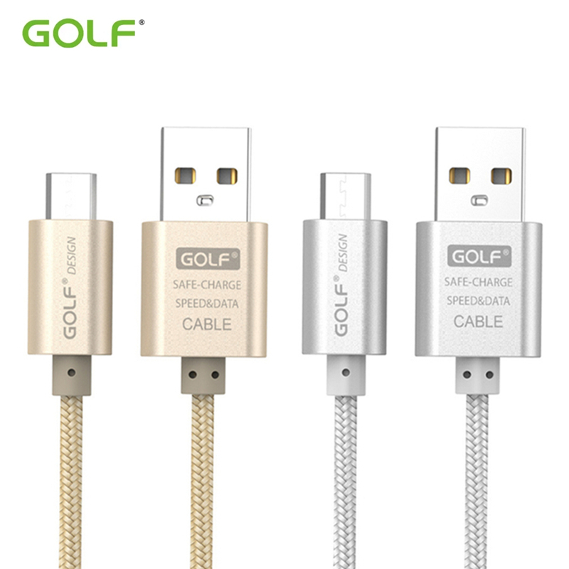 <font><b>GOLF</b></font> Micro <font><b>USB</b></font> Data Sync Charging Cable For Redmi <font><b>5</b></font> 6 5A 6A Samsung S6 S7 Edge Note4 LG G3 G4 Android Phone <font><b>USB</b></font> Charger Cable image