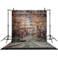 Red Brick Wall Photography Backgrounds High Grade Vinyl Silk Cloth Computer Printed Wedding Backdrop Photo Backdrop