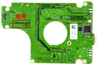 Board BF41 00282A M7S SLINE REV 01 R00 Mobile Hard Disk PCB Board