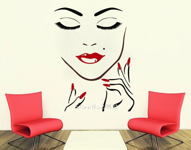 постер черно-белый в салон красоты