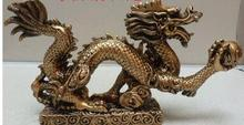 Resin imitation jade dragon talisman lucky draw decoration decorative sculpture collection Home Furnishing mascot