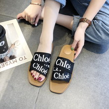 Shoes woman New designer Women Slippers Summer Beach Flip Flops Home Slippers Fa