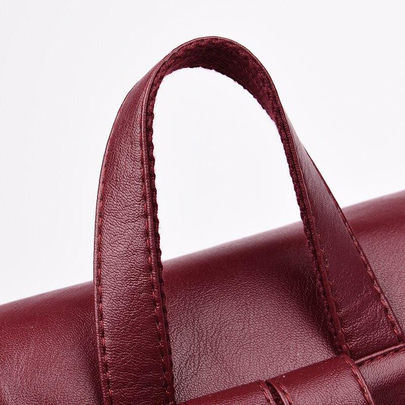 HTB1WDOmjAUmBKNjSZFOq6yb2XXaX Fashion2018 Women Backpacks Women's Leather Backpacks Female school backpack women Shoulder bags for teenage girls Travel Back