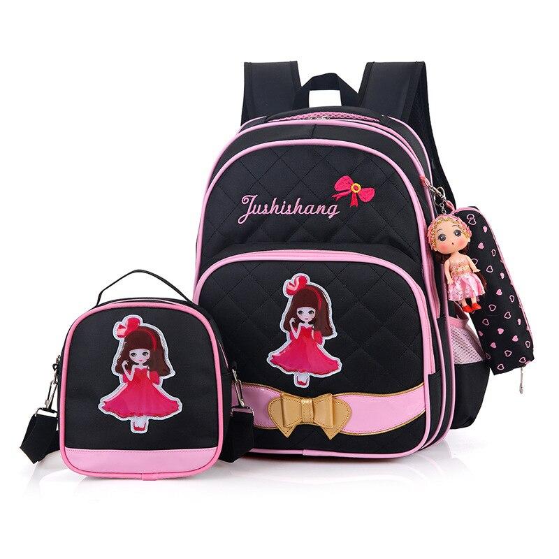 2018 New Waterproof Orthopedic Children School Bags For Girls School Backpacks Kids Gift Backpack Schoolbags Satchel Schoolbag