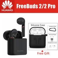 Новый HUAWEI FreeBuds 2 Pro Freebuds 2 Наушники Тип C Bluetooth беспроводной водостойкая гарнитура двойной коснитесь управление