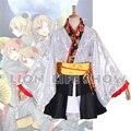 Amor En Vivo! 9 Funciones Kaguya No Shiro De Odoritai Kimono Cosplay Traje Con Ventilador