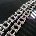 60CM*18mm New Design 316L Stainless Steel Punk Silver Heavy Duty Motorcycle Chain Cool Men's  Necklace Chain Free Shipping