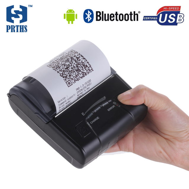 80 мм Android портативный bluetooth принтер с 2500 мАч батареи мобильного термопринтер обеспечение SDK для проекта HS-E30UA