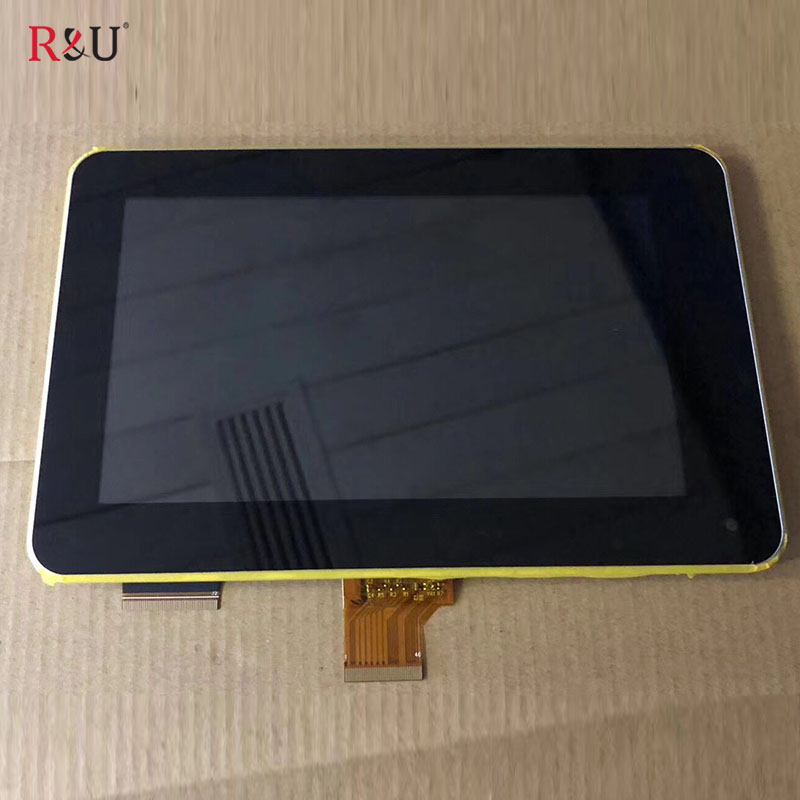 7 inch LCD Display Screen Touch Screen panel digitizer sensor assembly with frame Replacement For Acer Iconia Tab B1 710 B1-710 new 15 6 inch for acer v5 561p laptop led lcd touch screen panel assembly display 1366x768