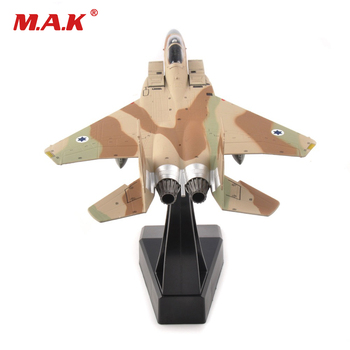 1/100 Boeing F-15 eagle jet airplane air force alloy fighter model aircraft toys for collection gift for kids children terebo 1 72 aircraft model alloy f 22 fighter simulation finished ornaments military model aircraft model collection gift