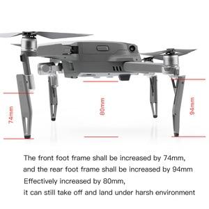 Image 5 - Heighten fahrwerk gimbal stoßdämpfer bein für dji mavic 2 zoom pro drone Zubehör