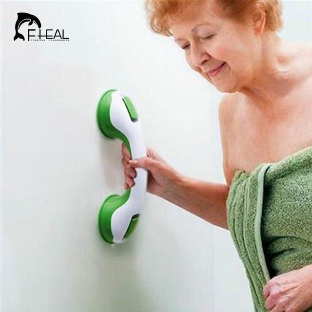 FHEAL New Suction Cup Handrail Handle Bathroom Shower Tub Room ...