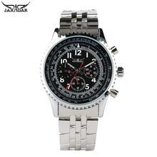 Montre mécanique automatique de bracelet d'acier inoxydable de montre d'affaires des hommes pour le cadeau mécanique de montres d'adolescents pour l'homme