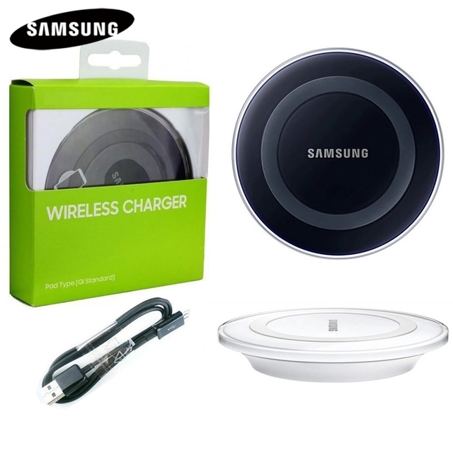 Original Wireless Charger For Samsung Galaxy S8 G9200 S6 S6Edge G9250 G9280 S7 S7edge S8Plus Note5 Note 8 SM-G iPhone8 EP-PG920I
