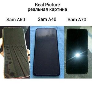 Image 2 - De cristal para Samsung Galaxy A50 A70 A10 Protector de pantalla de cristal templado para Samsung A50 A70 A10 A30 A40 A20 A20e A30S M20 A60 A80