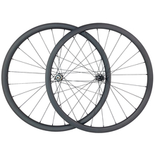 1300g 700c 30 millimetri tubeless strada disco asimmetrico ruote in carbonio TAPELESS 25 millimetri di larghezza U forma wheelset QR 12X100 15X100 12X142 UD 3K 6K