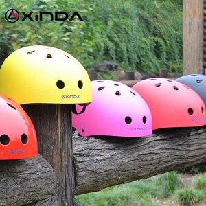 Image 5 - Xinda casco professionale da esterno protezione di sicurezza casco da campeggio esterno ed escursionismo casco da equitazione equipaggiamento protettivo per bambini