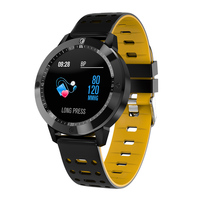 Newly Smart Watch Waterproof Tempered Glass Fitness Tracking Heart Rate Monitor Sport Wristwatch DC128