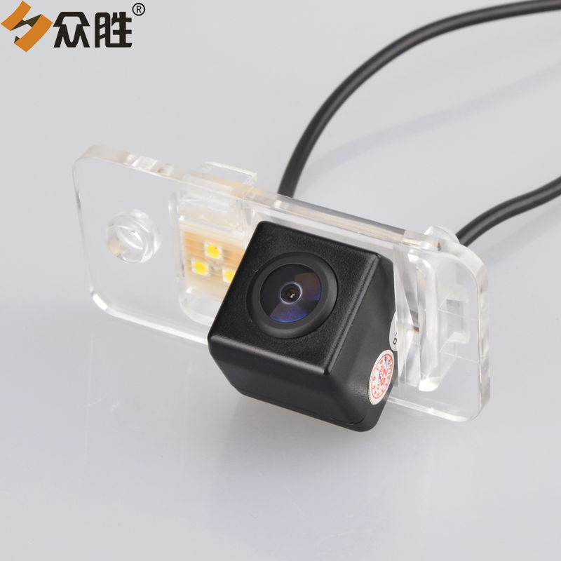 Car Rear View Camera For Audi A3 A4 A6l S5 Q7 Auto Trunk Handle Backup Camera Rapid Heat Dissipation Car Video