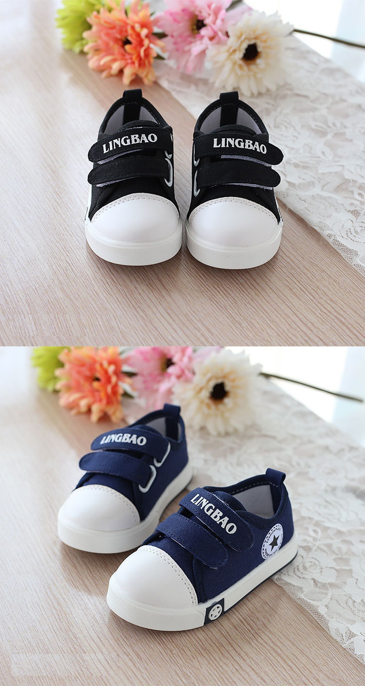 Kids Casual Shoes Autumn Fashion Stars Children Sneakers for Baby boys girls Canvas shoes 17 New Spring size 21~30 3