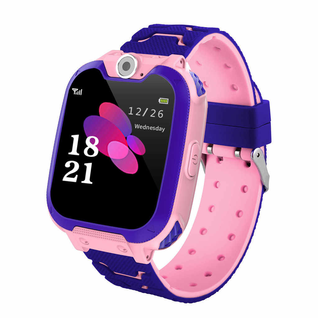 2019 Smart Watch Micro SIM Card Call Tracker Child Camera Anti-lost Position Alarm Smart Watch Children Watch#G30