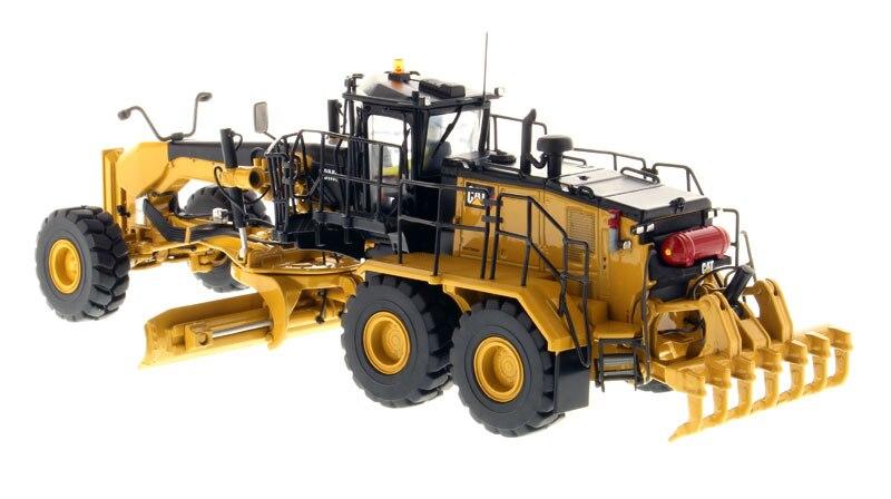 1:50 DM-85521 CAT18M3 автогрейдер-Высокая линия серии игрушек