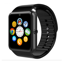 Smart watch mit sim-karte passometer sync digital-uhr new smartwatch wristwear uhr mit kamera bluetooth android