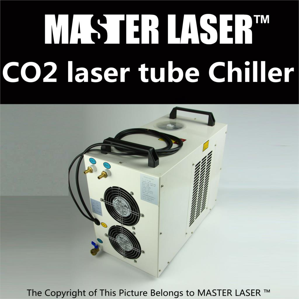 CO2 Laser Cutting Machine Industry Water Cooling Machine for Brazil CW-5000 BG 220v/60hz 100w Laser Chiller