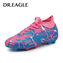 DR.EAGLE Outdoor Mens kids crampon football shoes soccer fut