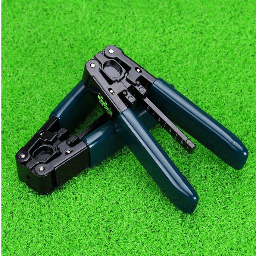 KELUSHI FTTH Splice Fiber Optic Tool Kit Pixian Fiber Stripper and Double Hole Fiber Optic Stripper For wmiller