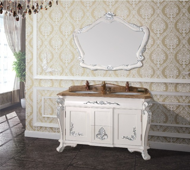 Hot sales antique bathroom cabinet with mirror and sink classic bathroom vanity. Aliexpress com   Buy Hot sales antique bathroom cabinet with